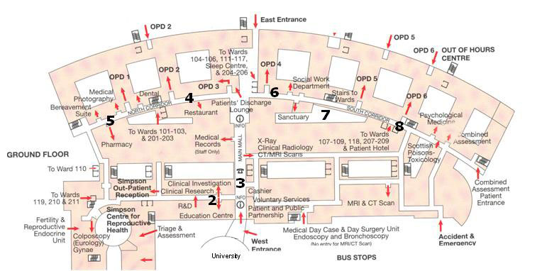 Edinburgh Royal Infirmary Map Edinburgh Haemophilia Centre – Haemophilia Scotland Edinburgh Royal Infirmary Map